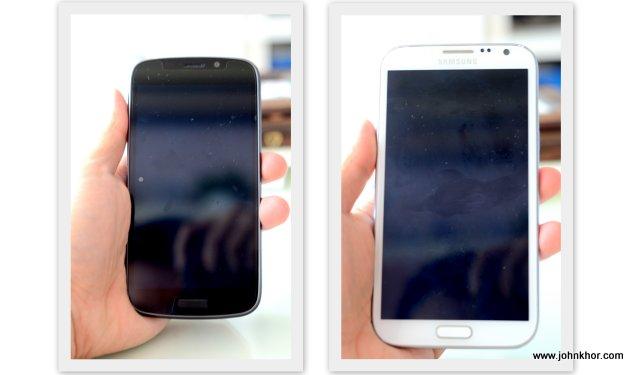 [Tech Kaiju] Ninetology U9X1 VS Samsung Galaxy Note 2 - Simple Comparison (6)