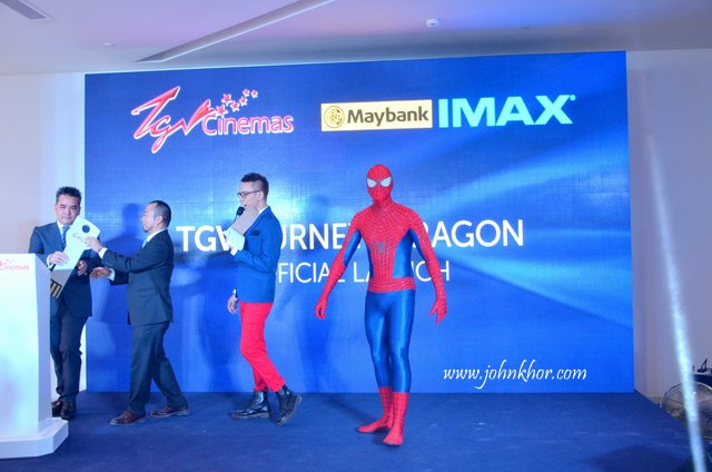 Official Launching of TGV Gurney Paragon & Guinness Record Attempt of 'The Largest Gathering of People Dressed as Spider-Man'! (14)