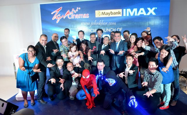 Official Launching of TGV Gurney Paragon & Guinness Record Attempt of 'The Largest Gathering of People Dressed as Spider-Man'! (17)