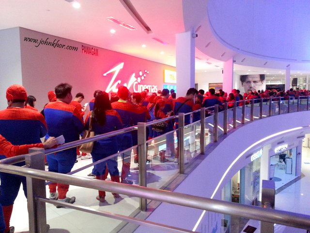 Official Launching of TGV Gurney Paragon & Guinness Record Attempt of 'The Largest Gathering of People Dressed as Spider-Man'! (20)