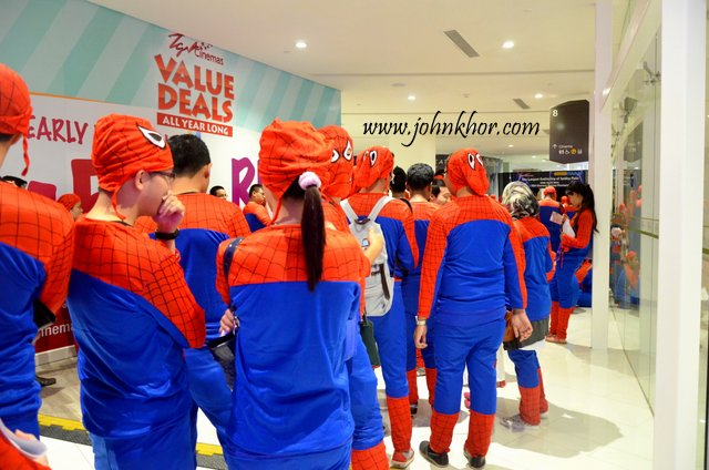 Official Launching of TGV Gurney Paragon & Guinness Record Attempt of 'The Largest Gathering of People Dressed as Spider-Man'! (22)