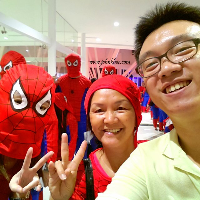 Official Launching of TGV Gurney Paragon & Guinness Record Attempt of 'The Largest Gathering of People Dressed as Spider-Man'! (23)