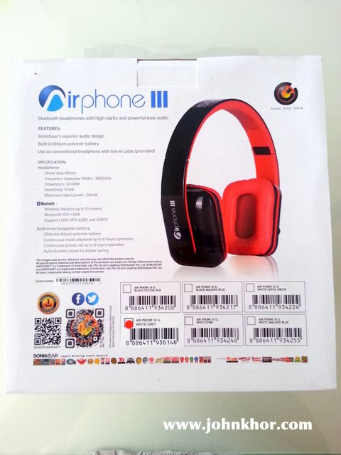 [REVIEW] Sonic Gear AirPhone III & V (2)