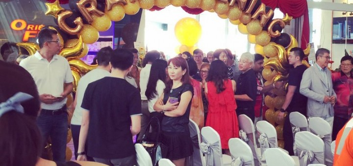 The Grand Opening of Orient Fitness Gold @ Gurney Paragon Mall, Gurney Drive, Penang (1)