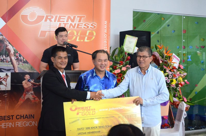 The Grand Opening of Orient Fitness Gold @ Gurney Paragon Mall, Gurney Drive, Penang (28)