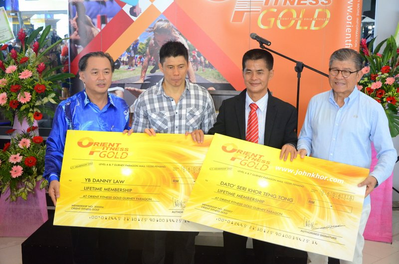 The Grand Opening of Orient Fitness Gold @ Gurney Paragon Mall, Gurney Drive, Penang (29)